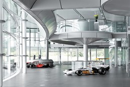 The Mc Laren Technology Centre In Woking