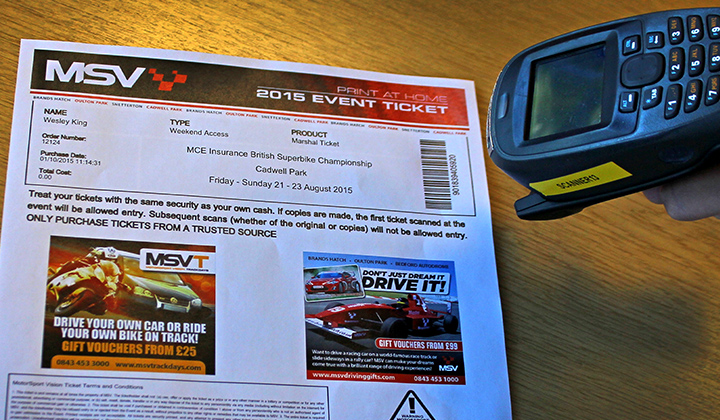 Msv Introduces Print At Home Ticket Facility For Clubs And Competitors